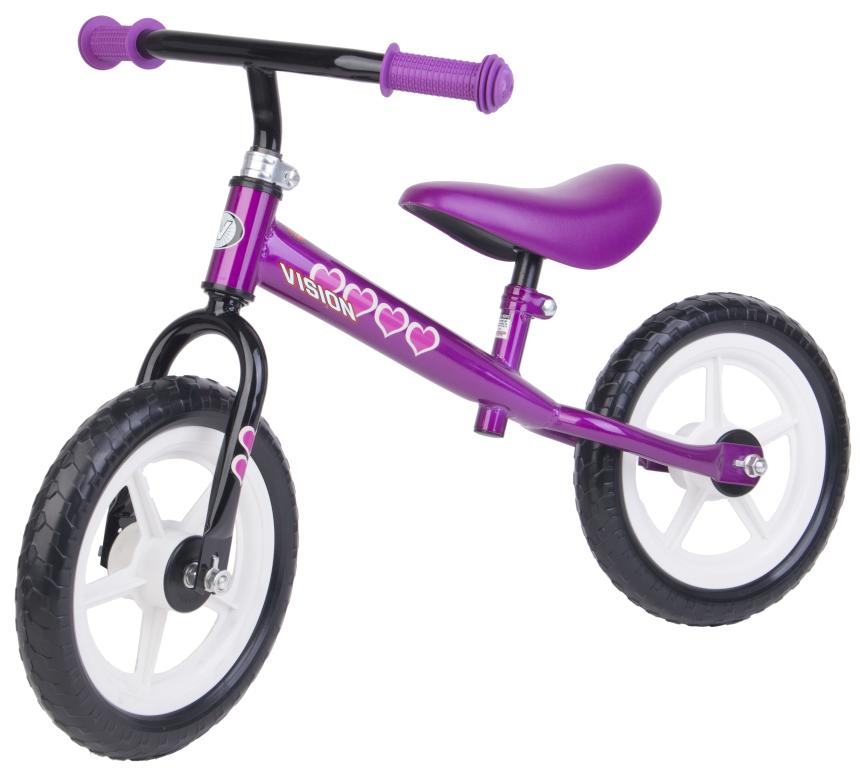 מודרניסטית אופני דחיפה VISION - אופניי BMX לילדים - רוזן ומינץ AA-63